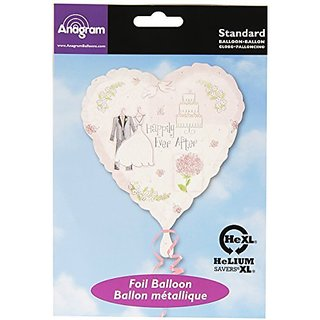 Anagram International A11999601 Sweet Romance Balloon Pack, 18