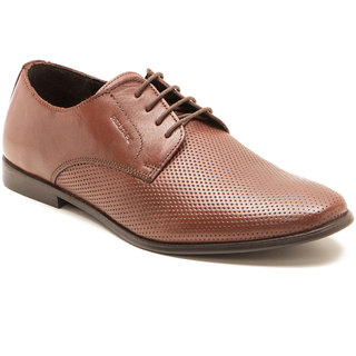 buy red tape men's maroon formal laceup shoes online