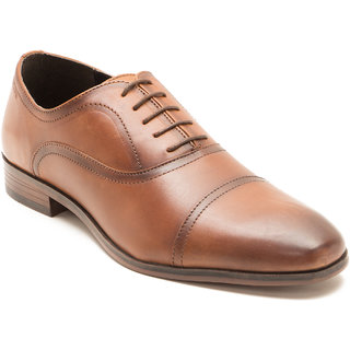 Red Tape Men's Tan Formal Lace-up Shoes