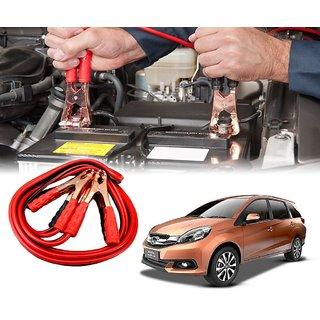 AUTOTRUMP - Car 500 Amp Heavy Duty Jumper Booster Cables Anti Tangle Copper Core 6ft For - Honda Mobilio