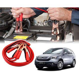 AUTOTRUMP - Car 500 Amp Heavy Duty Jumper Booster Cables Anti Tangle Copper Core 6ft For - Honda CRV