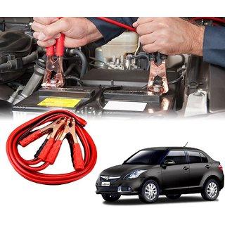 AUTOTRUMP - Car 500 Amp Heavy Duty Jumper Booster Cables Anti Tangle Copper Core 6ft For - Maruti Suzuki Swift Dzire New