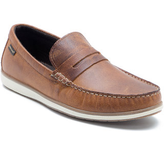 buy red tape men's brown loafers online  ₹3295 from shopclues