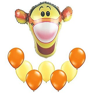 Tigger Balloon Bouquet 8pc
