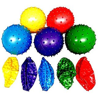 50 Knobby Balls 5 Colors 4