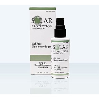 Solar Protection Formula Oil Free Non-comedogenic SPF 65, 2 oz.