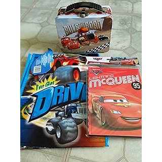 Disney Cars,Journal, Bag, Tin Lunch Box