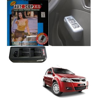 Autocop 4 Door Power Window for Mahindra Verito  with automatic roll up relay - By Carsaaz