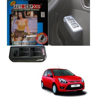 Autocop 4 Door Power Window for Ford Figo with automatic roll up relay - By Carsaaz