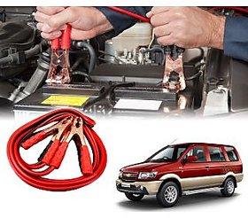 AUTOTRUMP - Car 500 Amp Heavy Duty Jumper Booster Cables Anti Tangle Copper Core 6ft For - Chevrolet Tavera