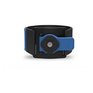 Quad Lock Sports Armband, Black/Blue
