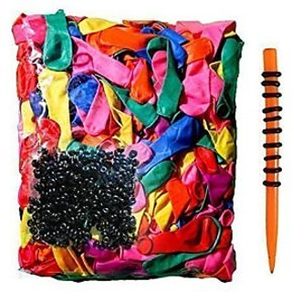 Water Balloons Refill Kit: Refill Your used Straws In a Jiffy - 500 Not Once But 5x With This Party Time Balloon Kit - 5