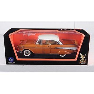 1957 Chevrolet Bel Air Hardtop Bronze 1 18 by Road Signature 92109