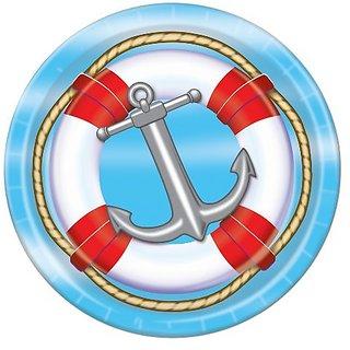Nautical Plates (8 Pkg)