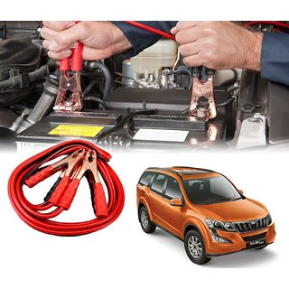 AUTOTRUMP - Car 500 Amp Heavy Duty Jumper Booster Cables Anti Tangle Copper Core For - Mahindra XUV 500-2015