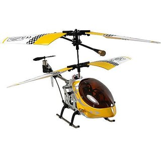 Sky Invaders Metal Frames Series 3 Channel Mini Helicopter (Colors Vary)