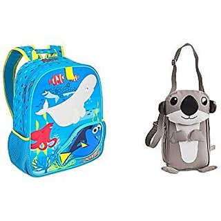 Disney Store Finding Dory Nemo Kids Backpack School Bag & Otter Lunch Tote 2pc Set