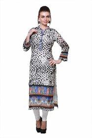 Anksh Leopard Printed Kurti for Women
