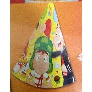El Chavo del Ocho Party Hats Favors Birthday Quico Decoration