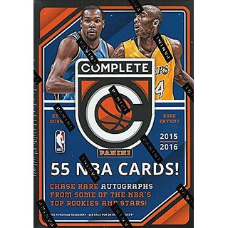 2015 2016 NBA Basketball Panini Complete Trading Cards Retail Sealed Box