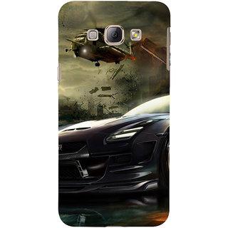 low priced 9c323 ce9ec Buy EagleHawk 3D Designer Back Cover for Samsung Galaxy A8 :: Car ...