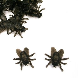 US TOY GROUP LLC -Plastic Mini Flies : package of 72, Size 1 1/2
