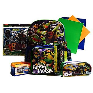 Sticker Your Stuff Turtles Backpack Bundle