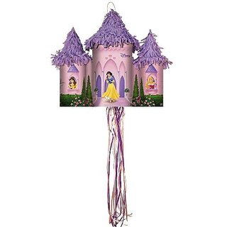 Disney Fairytale Princess Castle Pull-String Pinata