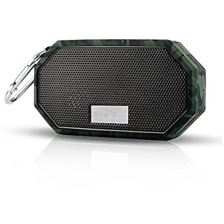 OXoqo IP66 Bluetooth Portable Waterproof Wireless Outdoor Shower Speaker, Bluetooth CRS 4.0 Stereo with Built-in Mic, Fo