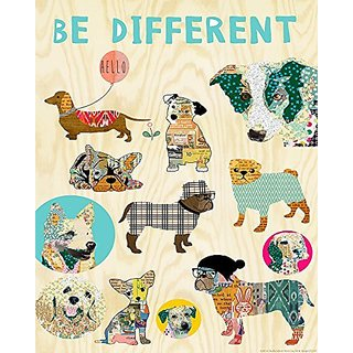 Heritage 1093 Be Different Wall Decor, 25 x 20-Inch