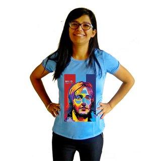 LetsFlaunt Guetta T-shirt T-shirt Girls Blue Dry-Fit-X-Small Nw