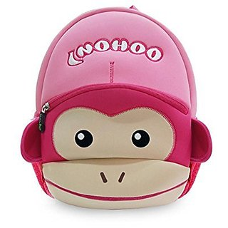 Coavas Gift For Kids Backpack Cute Toddler Backpack - Funny Monkey With Hat Pink(129.14.1 inch) - Monkey Year Best Gift