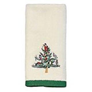 Avanti Spode Tree Printed Fingertip Towel, Ivory