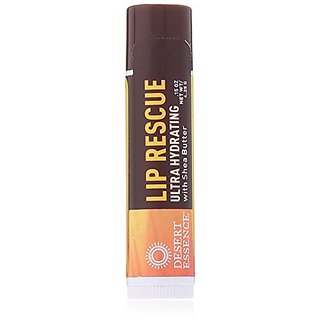 Desert Essence Lip Rescue with Shea Butter, .15 Ounce