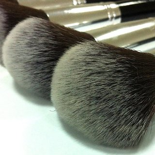 Sheer Cosmetics 10-piece Premier Essence Makeup Brush Set - Kabuki & Precision Brushes