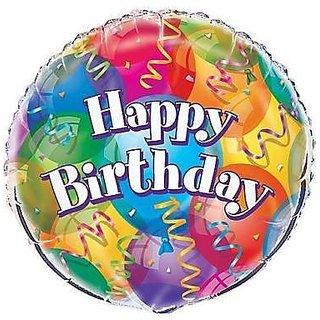 Buy 18 Brilliant Happy Birthday Foil Balloon