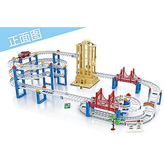 Coobl Train Rail Cars Toys for Childrens Classic Educational Toys Deluxe Edition 95-21