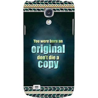 new product aa813 affae EagleHawk 3D Designer Back Cover for Samsung Galaxy S4 Mini :: You were  Born an Original Dont Die a Copy :: Samsung S4 Mini Designer Case  (Eagle-206)
