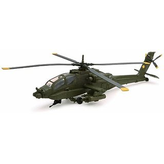Helicopter AH-64 Apache Die Cast 1 55 scale