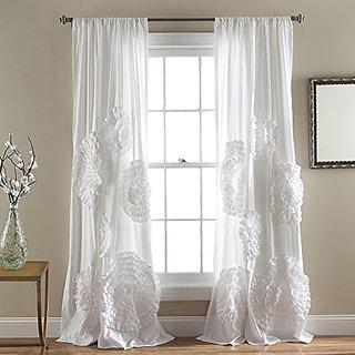 Lush Decor Serena Window Curtain Panel, 84 x 54
