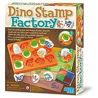 4M Dino Stamp Factory Science Kit
