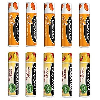 Citrus Jelly Bean and Mango Sunrise Chapstick (10-pack)