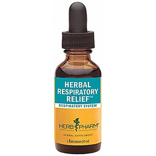 Herb Pharm Herbal Respiratory Relief Formula with Wild Cherry Extract - 1 Ounce