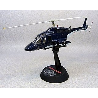 Aoshima Airwolf 1 48 scale high quality diecast model (cobalt blue)