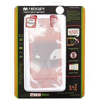 GOOSPERY - Anti-Fingerprint Color Film Screen Protector for iPhone 5/5S - (Pink) - CFi5sPI