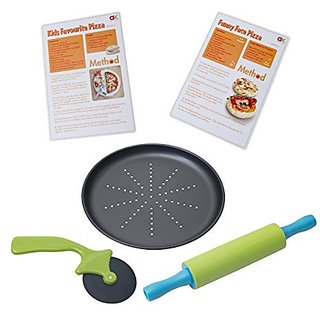 Casdon Little Cook SupRchef Mini Pizza Set, Multicolored