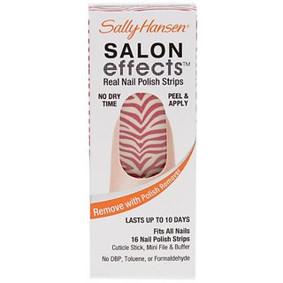 Sally Hansen Salon Effects - Red-Y to Rock / Rock of Ages - Nail Polish Strips
