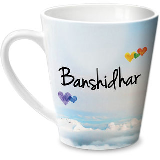 Hot Muggs Simply Love You Banshidhar Conical Ceramic Mug 350ml
