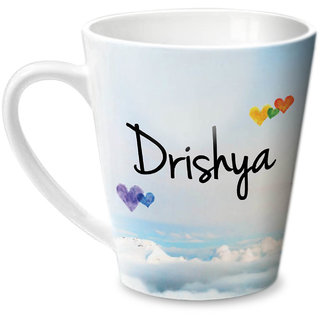 Hot Muggs Simply Love You Drishya Conical Ceramic Mug 350ml