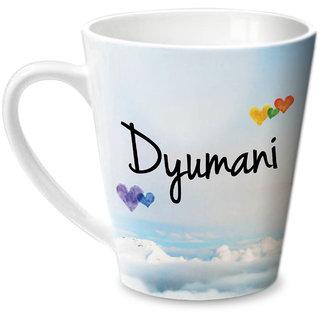 Hot Muggs Simply Love You Dyumani Conical Ceramic Mug 350ml